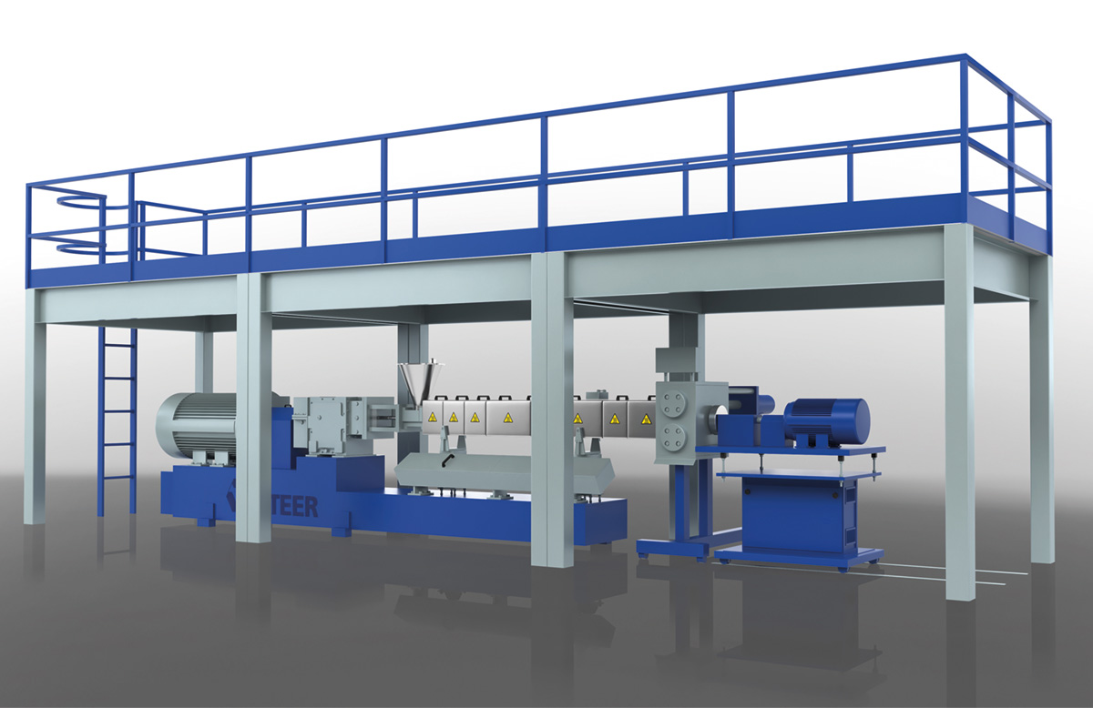 steer twinscrew extruders